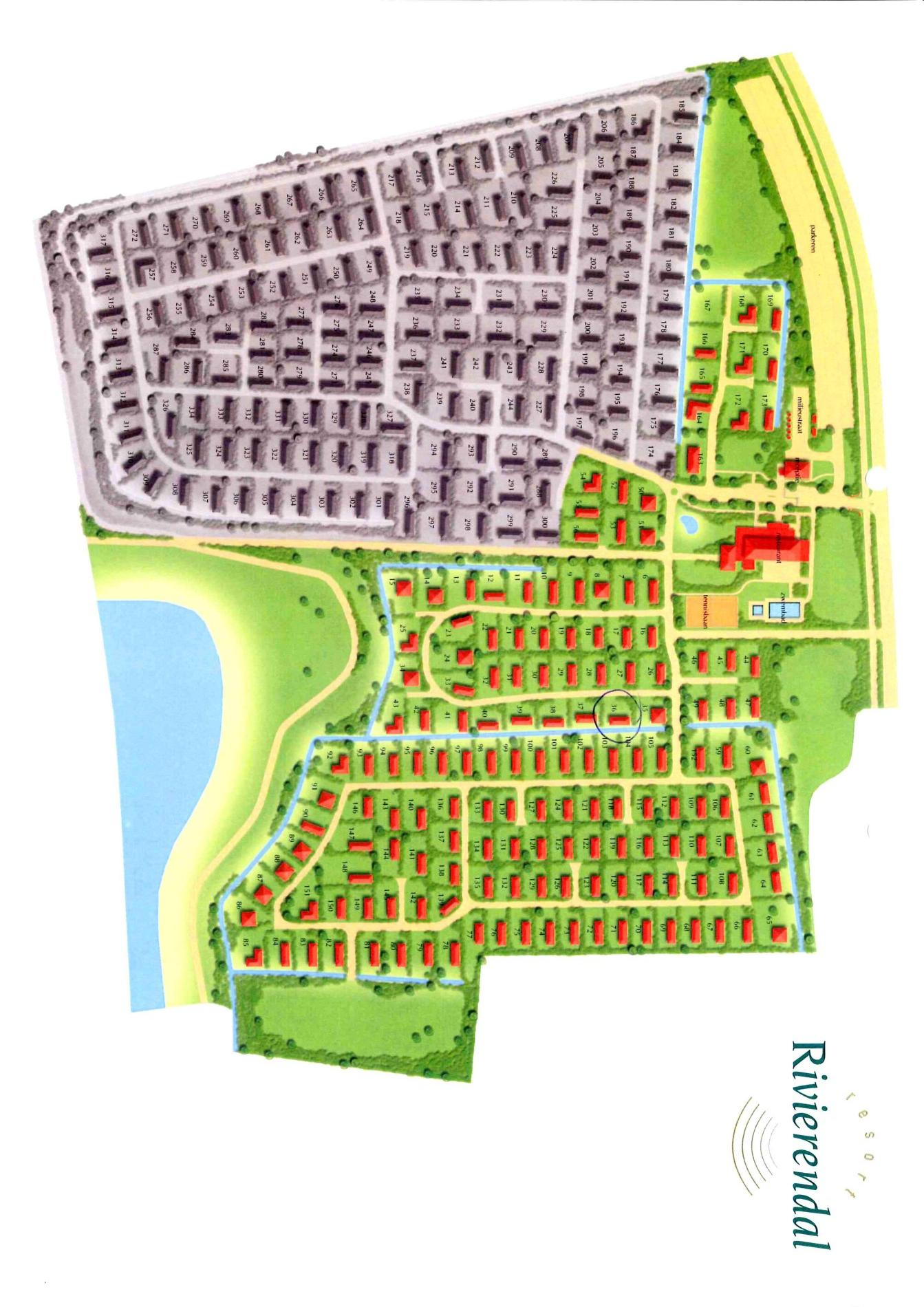 Floorplan - Bonegraafseweg 32-036, 4051 CH Ochten