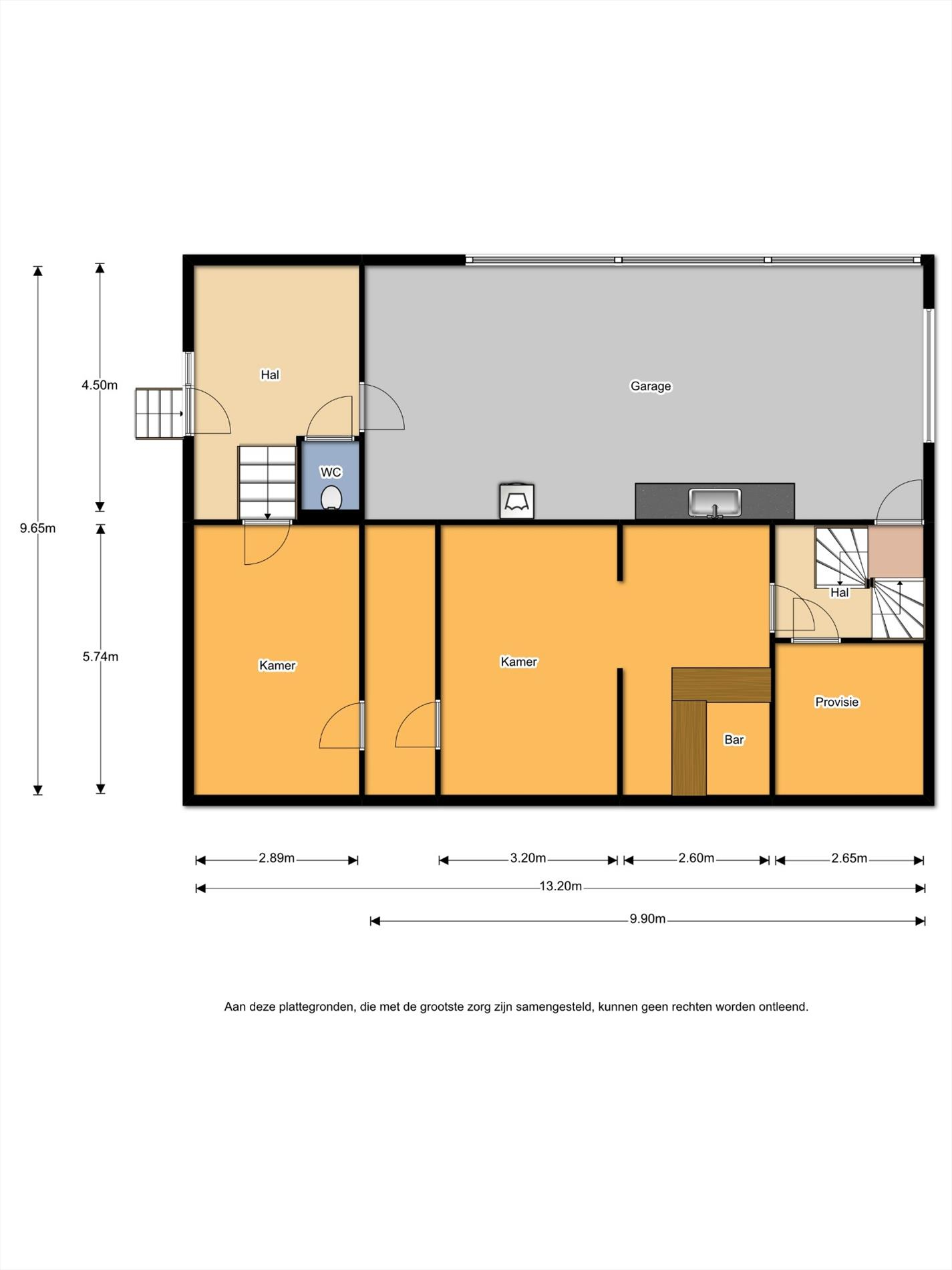 Floorplan - Hans ten Brugstraat 1A, 7447 GD Hellendoorn