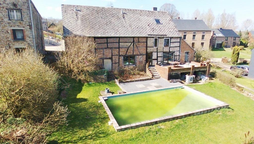 Fermette 4 fa ades avec piscine maison vendu 5570 von che for Piscine 5575