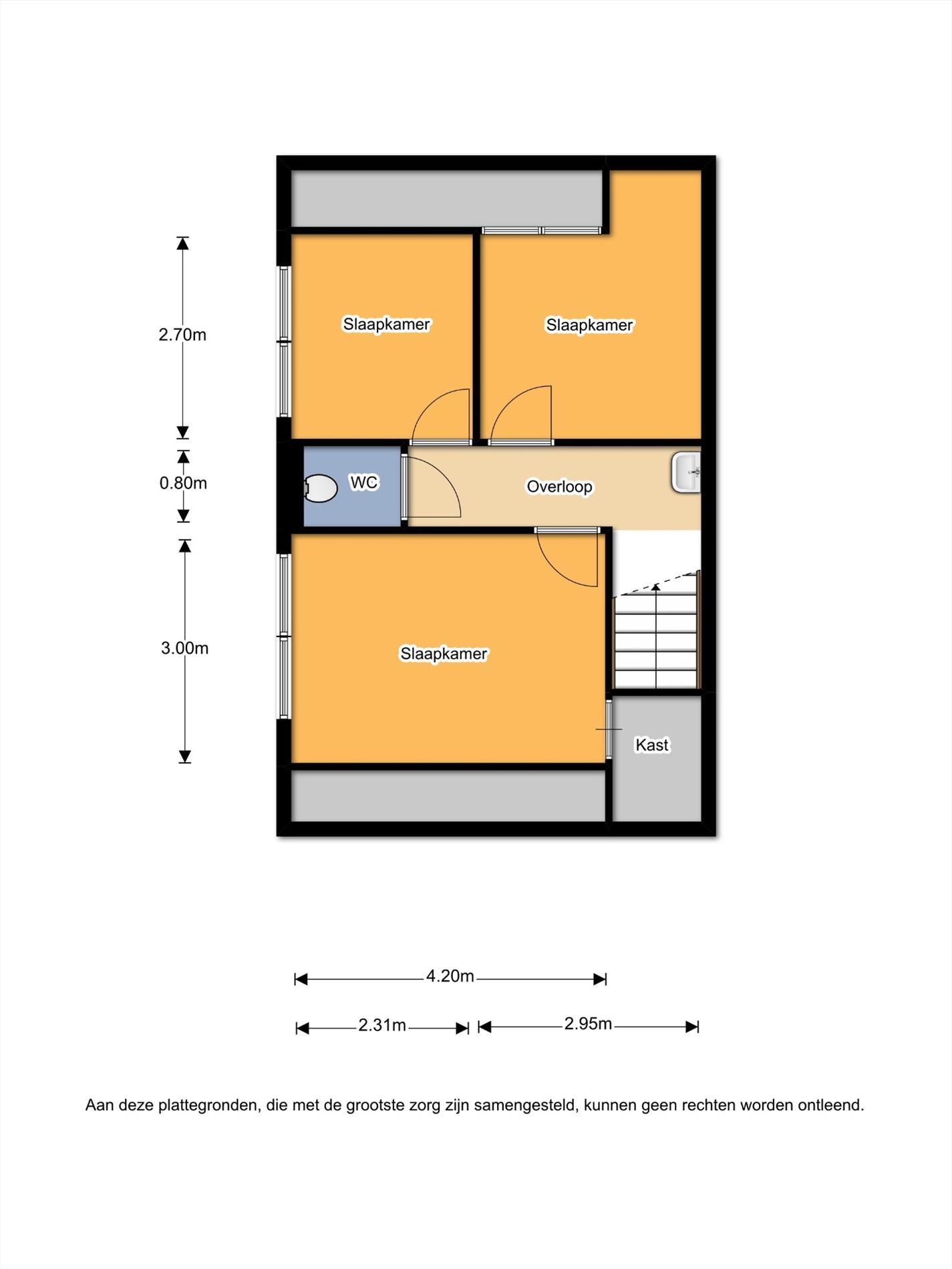 Floorplan - Ninaberlaan 69, 7447 AC Hellendoorn